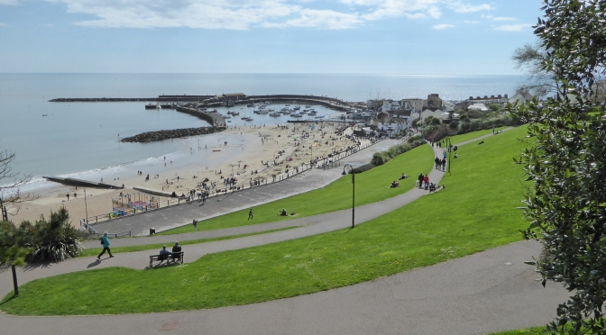 The Seafront Gardens in Lyme Regis