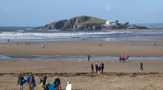 Bantham Beach in south Devon – the lost and the found