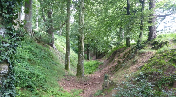 A glimpse of ancient history in East Devon – Woodbury Castle